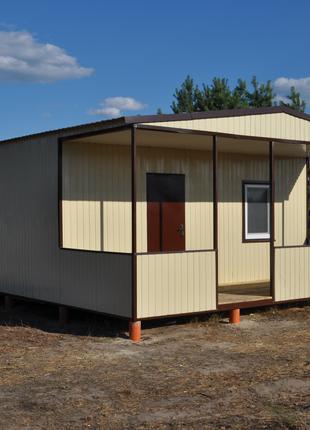 Будинок для постійного(тимчасового) проживання. Вагончик. Битовка