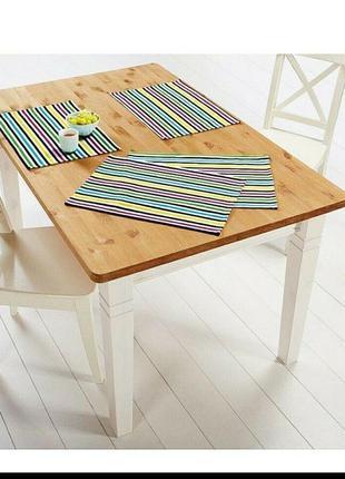 Яркие салфетки для сервировки стола от meradiso