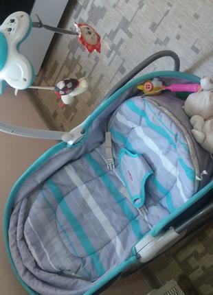 Детская кресло качалка и кокон