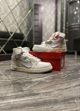 Кроссовки Nike Air Jordan 1 Retro Off-White