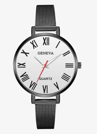 Стильные женские часы с металлическим браслетом ( Уценка )