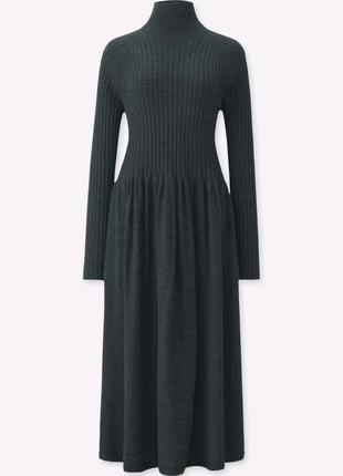 Платье Uniqlo меринос XS