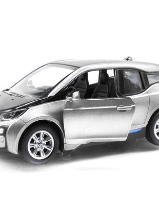 Модель электромобиль BMW i3 KT5380W серый