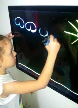 Светящаяся доска для рисования,флуоресцентная -для детского тв...