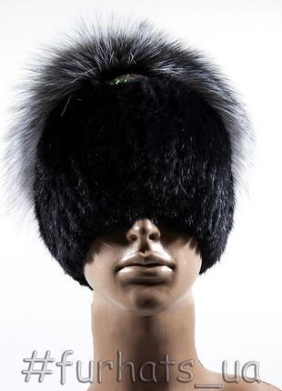 МЕХОВАЯ ШАПКА «ПРИНЦЕССА» Женская шапка из натурального меха