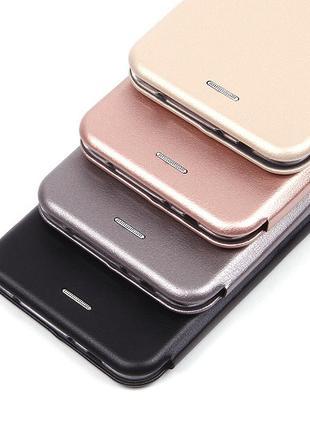 Чехол Книга Premium для Xiaomi Redmi 4X   - Цвет: Серебро