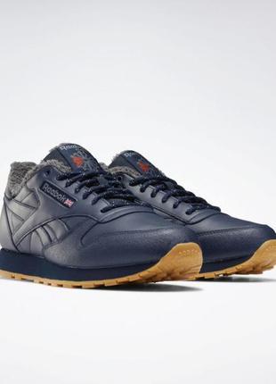Мужские кроссовки reebok classic leather mu fu9122