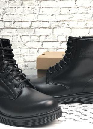 Шикарные мужские❄️ зимние ботинки топ качество dr. martens 🎁