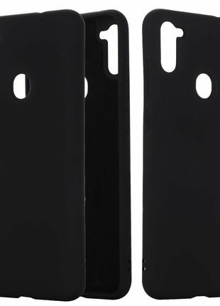 Чехол  Силикон Graphite Samsung M11  A11 черный