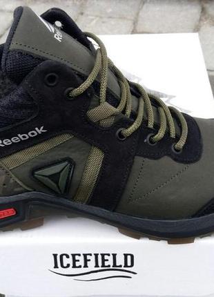 Ботинки/кроссовки натуральная кожа reebok