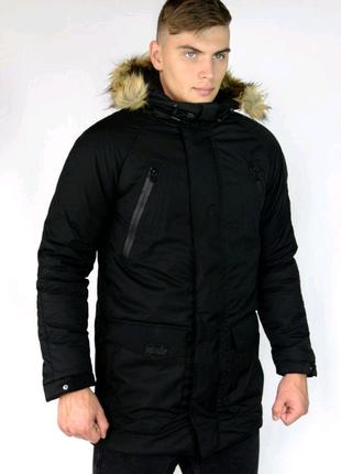 Зимняя парка HotWint  мужская куртка пуховик бушлат дубленка ветр