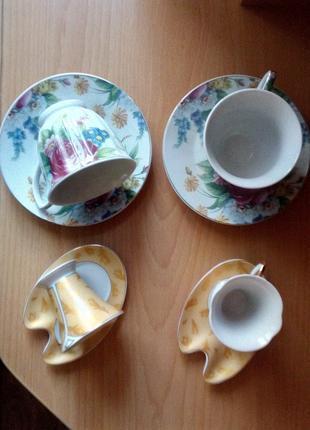 Чашки,блюдца.Кофейный\Чайный наборы (новые)