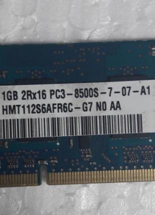 Память для ноутбука SODIMM/DDR3/1Gb/Hynix