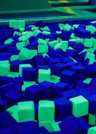 Кубики поролонові