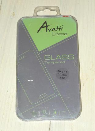 Защитное стекло для Sony Xperia C5 Ultra E5533 Avatti 1011