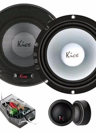 Автомобильная акустика Kicx PD-6.2 Новая гарантия 12 месяцев