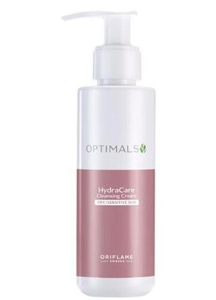 Очищающий крем-гель для сухой и чувствительной кожи optimals h...