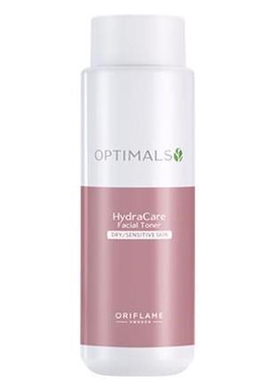 Мягкий тоник для сухой / чувствительной кожи optimals hydra ca...