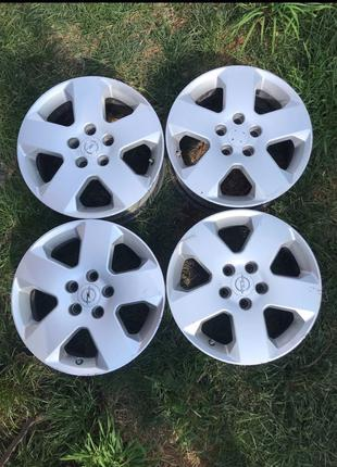 Литые диски 5/110 r16 Opel