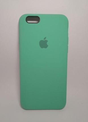 Задня накладка iPhone 6 Original Soft Touch Case Spearmint