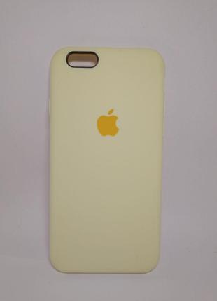 Задня накладка iPhone 6 Original Soft Touch Case Mellow Yellow