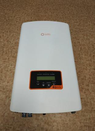 Солнечный сетевой инвертор  с лимитером Solis 1P5K-4G