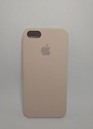 Задня накладка iPhone 5 Original Soft Touch Case pink sand