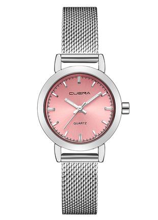 Женские часы с металлическим браслетом
