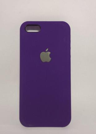 Задня накладка iPhone 5 Original Soft Touch Case Ultra violet