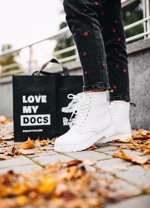 Шикарные кожаные осенние ботинки сапоги dr.martens sinclair iv...