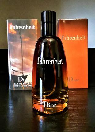Мужские духи Christian Dior Fahrenheit 100 мл ОАЭ Лицензия