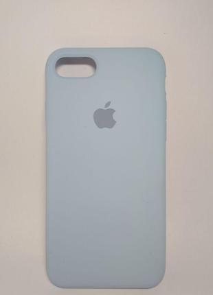 Задня накладка iPhone 7 Original Soft Touch Case Lilac Cream