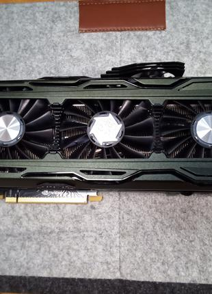 Видеокарта Inno3D GeForce GTX 1070 Ti 8 Gb iChill x4