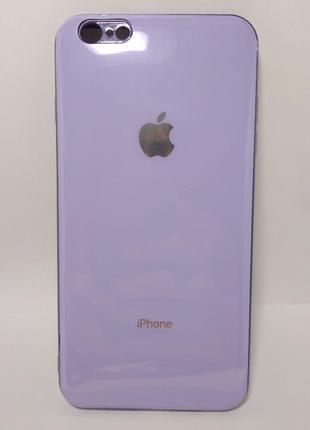 Задня накладка iPhone 6 Plus Glass Case Фіолетовий