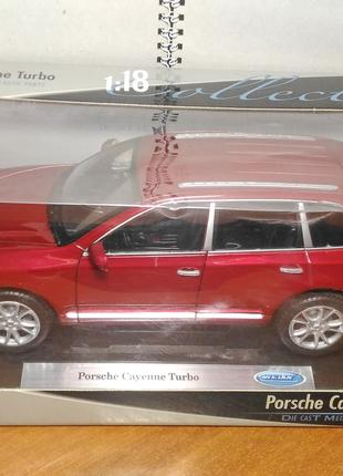 WELLY Collection - Porsche Cayenne Turbo 1:18