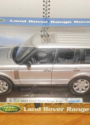 WELLY Collection Land Rover Range Rover 1:18