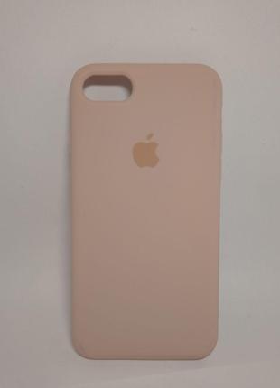 Задня накладка iPhone 7 Original Soft Touch Case Lilac