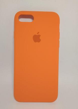 Задня накладка iPhone 7 Original Soft Touch Case Orange