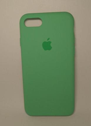Задня накладка iPhone 7 Plus Original Soft Touch Case Spearmint
