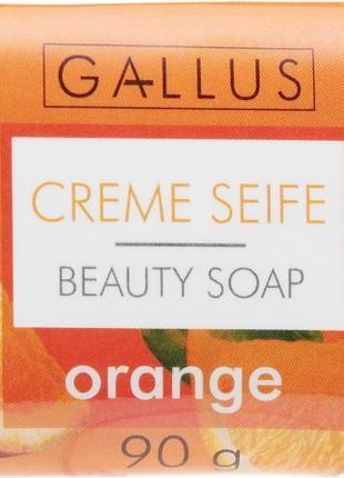 """GallusBody Care Косметическое мыло """"Апельсин"""""""