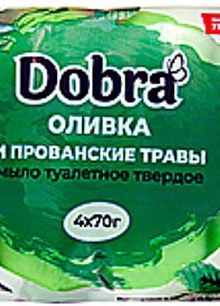 """Мыло туалетное """"Оливка и прованские травы"""" 4*70g"""