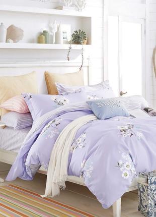 Двухспальный комплект постельного белья № 19006