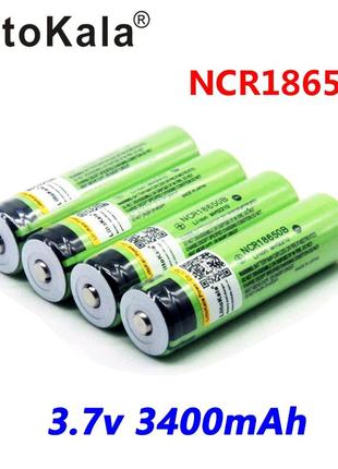 Аккумулятор LiitoKala NCR18650B 3400 mAh 3.7V Li-ion качественные