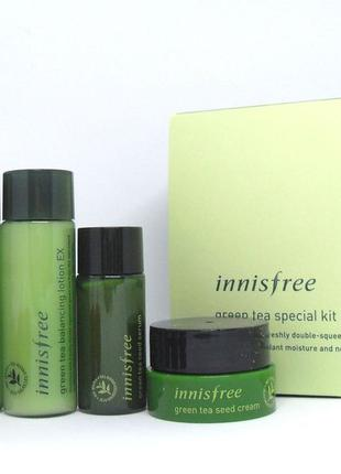Мининабор INNISFREE Green Tea Special Kit EX