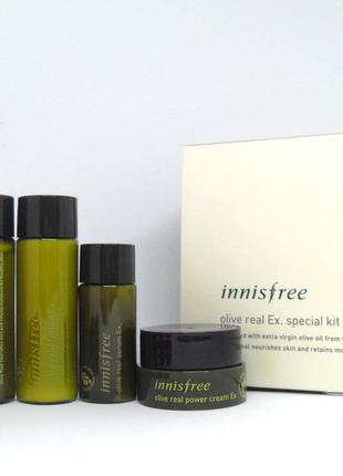 Мининабор INNISFREE Olive Real Special Kit Ex