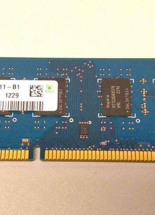 Оперативная память 4GB DDR3 1333MHz Hynix PC3 10600U 2Rx8 RAM