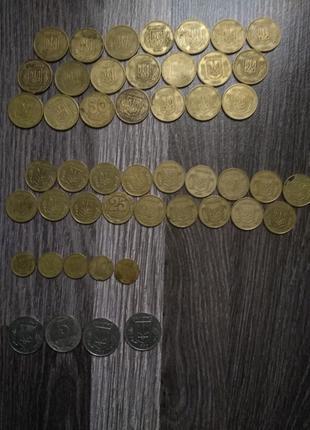 Монеты 1992/1994 года. Цена за штуку. Покупка оптом - скидка!