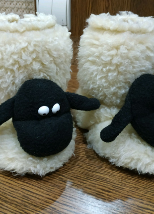 Валенки сапожки из овчины