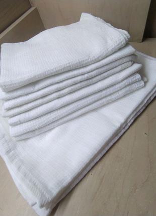 Вефельеные полотенце