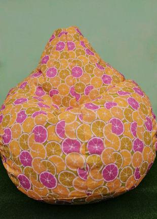 Кресло Груша большое Цитрусы